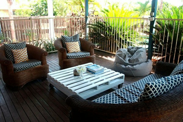 Balkonmöbel Selber Bauen ~ Attraktive Balkonmöbel selber bauen