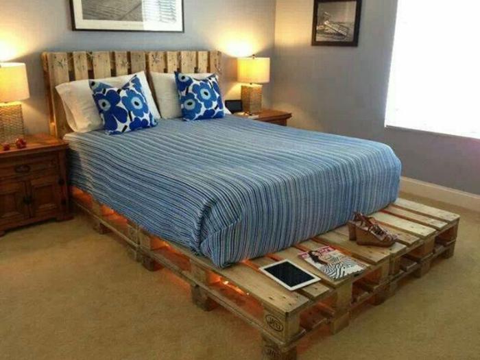 Bett Aus Paletten Bauen möbel aus paletten 95 sehr interessante beispiele