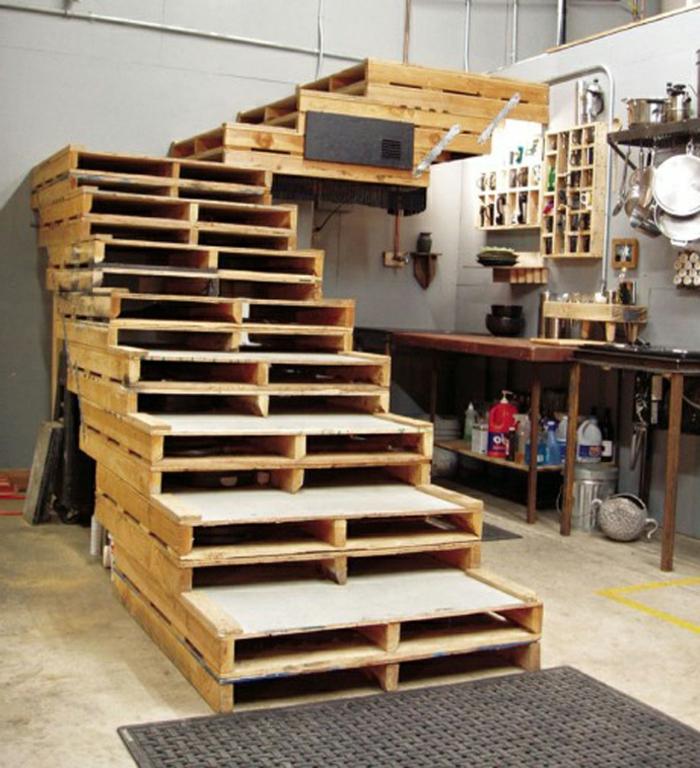 Gartenmobel Edelstahl Design : Möbel aus Paletten – 95 sehr interessante Beispiele!