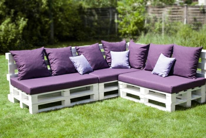 Terrassenmöbel aus europaletten  ▷ Möbel aus Paletten - 95 sehr interessante Beispiele!