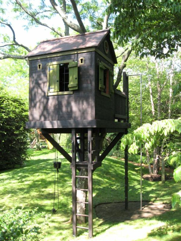 Baumhaus Bauen Schaffen Sie Einen Ort Zum Spielen F 252 R