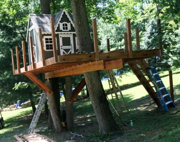 Baumhaus Selber Bauen baumhaus bauen schaffen sie einen ort zum spielen für ihre kinder
