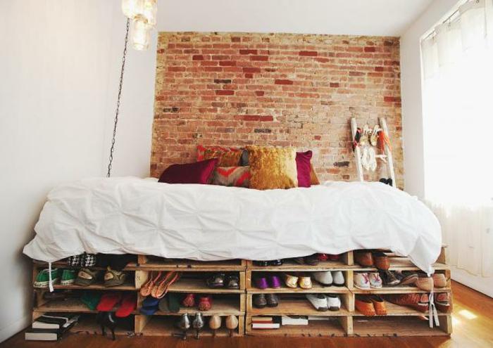 Bett ausklappbar ideen mit bett und bett modern for Bett ausziehbar doppelbett