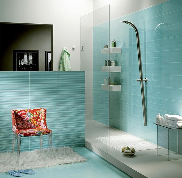 blaue-fliesen-für-badezimmer-design - neues modell von dusche - neue bad fliesen ideen