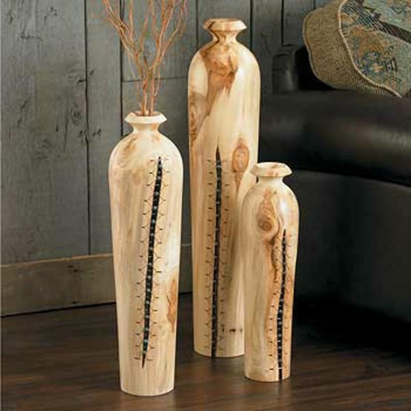 bodenvasen-drei-moderne-beige-modelle- sehr schön