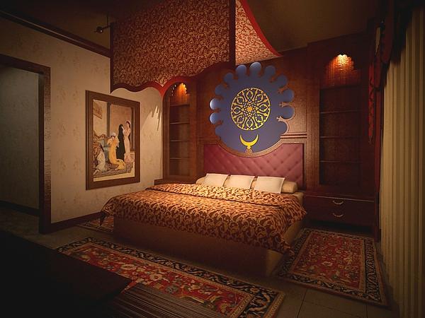 orientalisches schlafzimmer - zauberhafte atmosphäre schaffen, Modernes haus