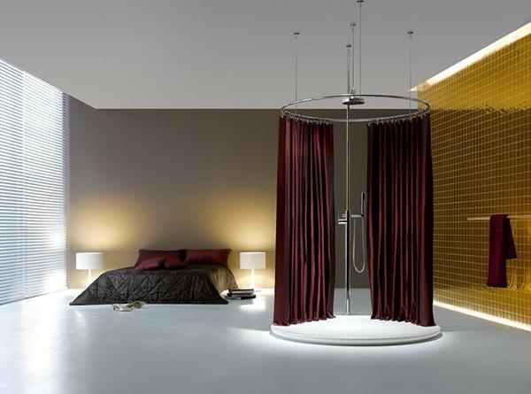 badezimmer am schlafzimmer. Black Bedroom Furniture Sets. Home Design Ideas