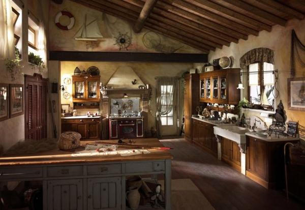 26 verblüffende Vorschläge für moderne Landhausküchen - Archzine.net | {Landhausküchen bilder 28}