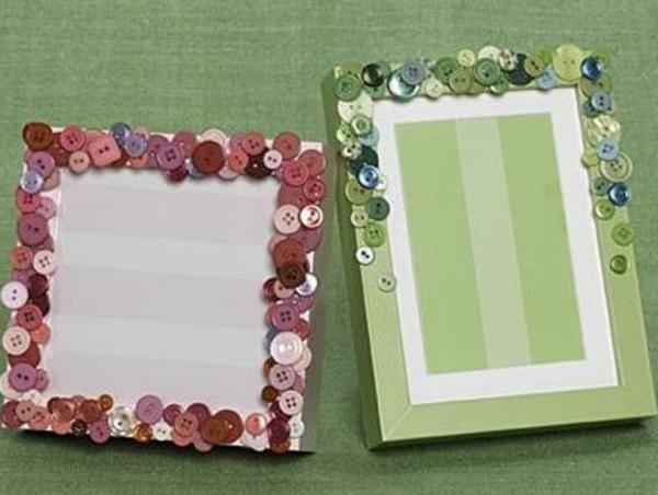 bilderrahmen selber basteln originelles valentinssgeschenk