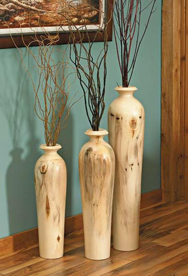 25 atemberaubende bodenvasen designs - richtige eyecatcher in ... - Grose Vasen Fur Wohnzimmer