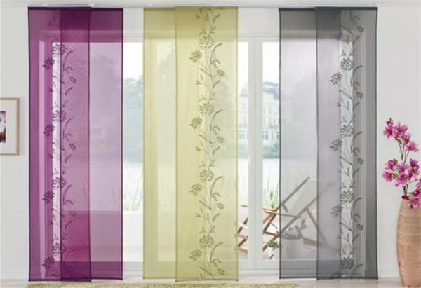 drei-schöne-farben-für-schiebegardinen- durchsichtig