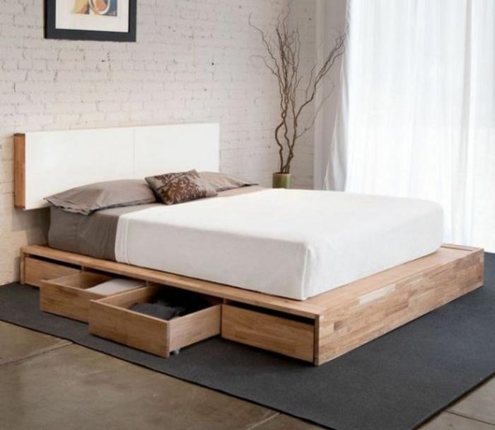 ▷ Möbel Aus Paletten - 95 Sehr Interessante Beispiele! Bett Selber Bauen Kreativ