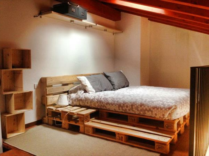 m bel aus paletten 95 sehr interessante beispiele. Black Bedroom Furniture Sets. Home Design Ideas