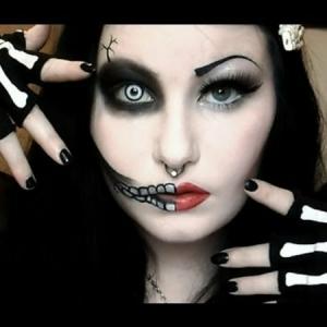 Halloween Schminken - 30 verblüffende Ideen