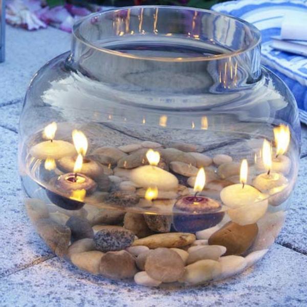 Die wohnung nach feng shui einrichten 26 kreative ideen for Kerzen dekoration