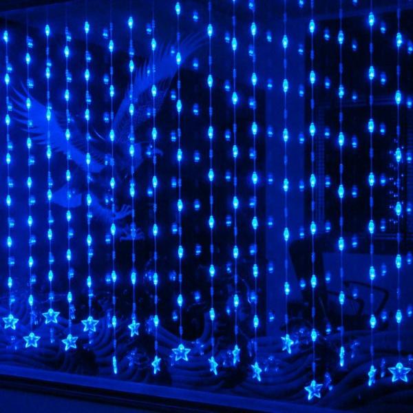 fenterdeko-ultramoderne-leuchter- für die nacht