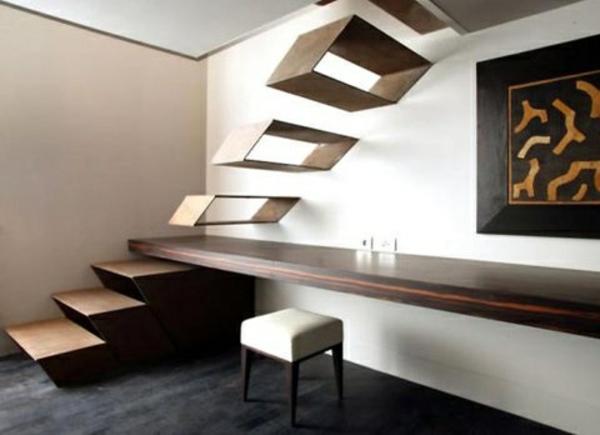 extravagantes design für freischwebenden treppen