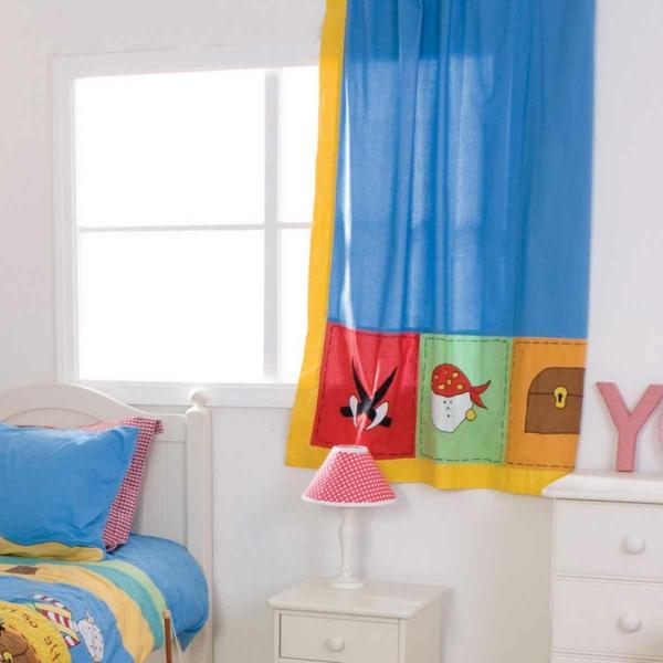 gardinen-fürs-kinderzimmer-bunte farben