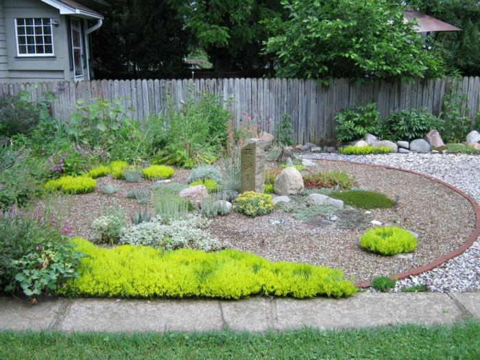 garten-mit-kies-moderne-gärten-gestalten