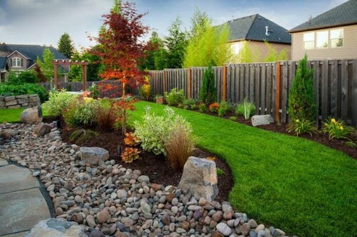 Garten Mit Steinen Gestalten Wunderschöne Gartengestaltungen