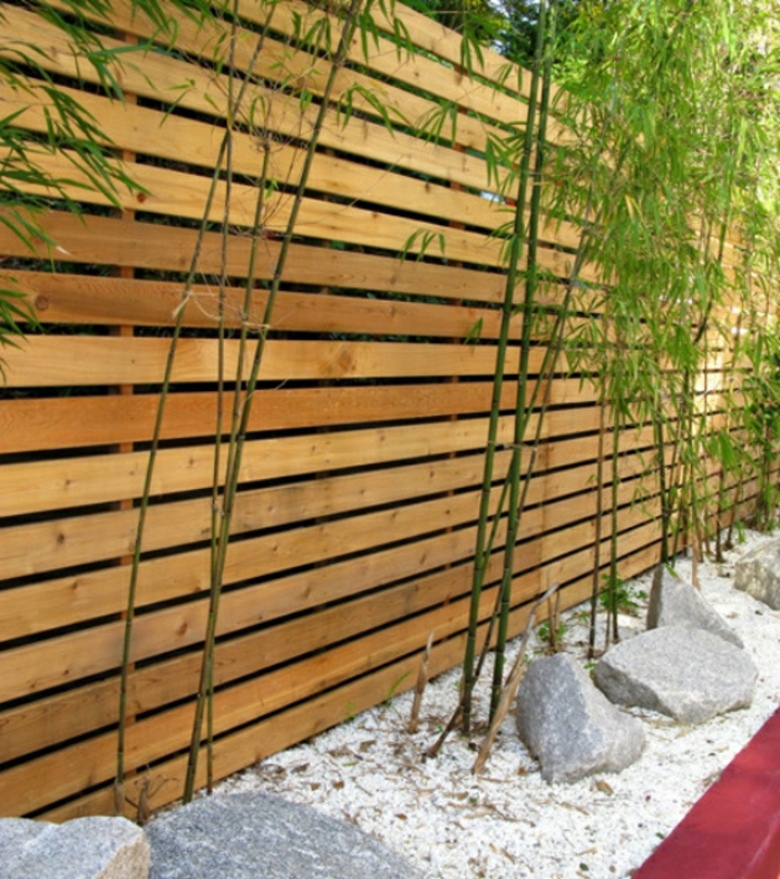 gartenzaun-ideen-moderne-gestaltung-schöne-gärten-mit-sichtschutz