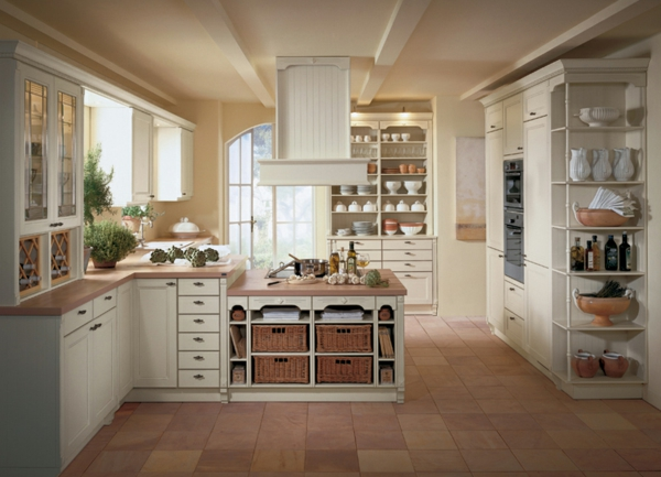 White Galley Kitchen Images