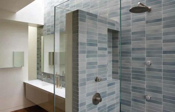graue-fliesen-fürs-badezimmer-duschkabine- modernes design