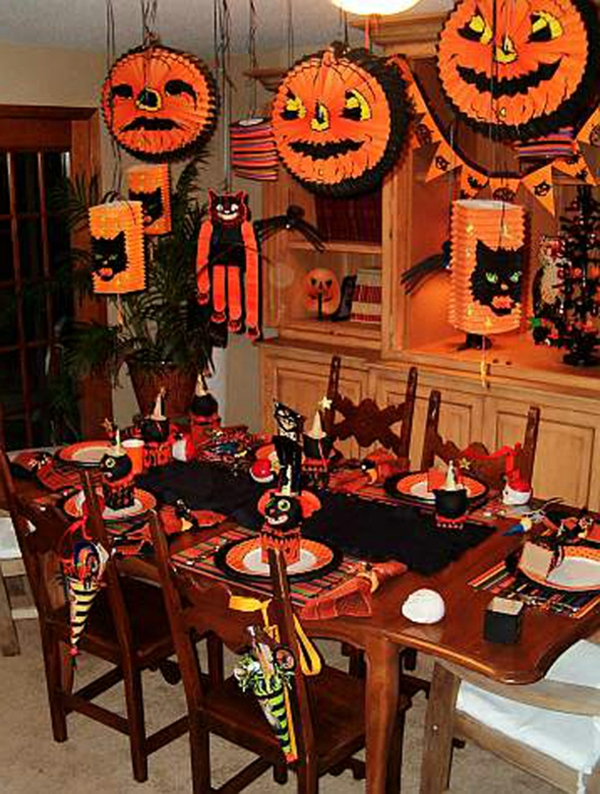 halloween deko ideen halloween deko basteln und feierstimmung kreieren halloween im garten. Black Bedroom Furniture Sets. Home Design Ideas