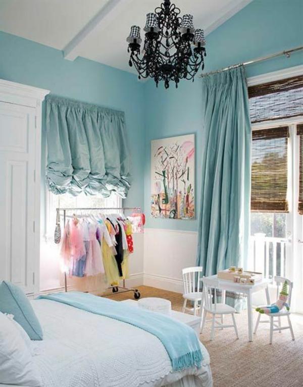 Das Jugendschlaffzimmer im Himmelblau, Teil unseren Wandfarben Ideen, passt perfekt auch zu Mädels