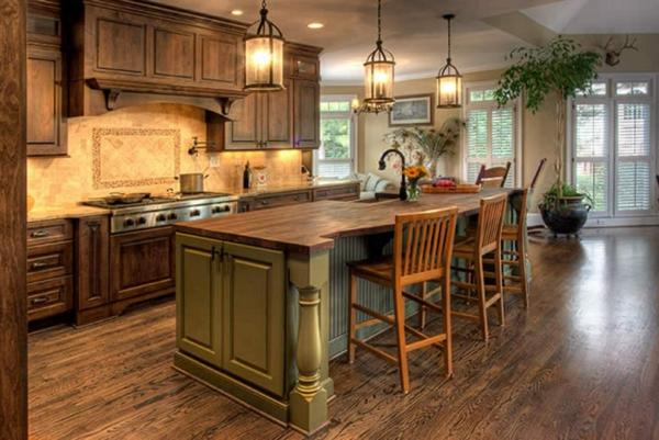 Primitive Country Kitchen Paint Colors