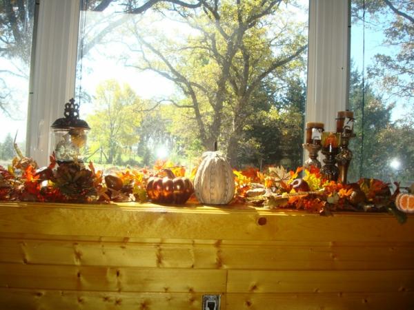 interessante-fensterdeko-zum-halloween- originelle diy ideen