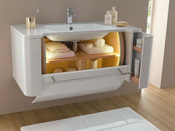 interessante-idee-für-waschbecken- weiße farbe