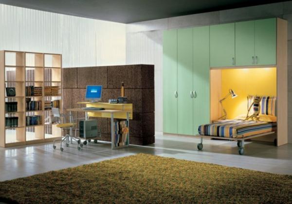jugendzimmer-schlichte-farbschemen- trennwand