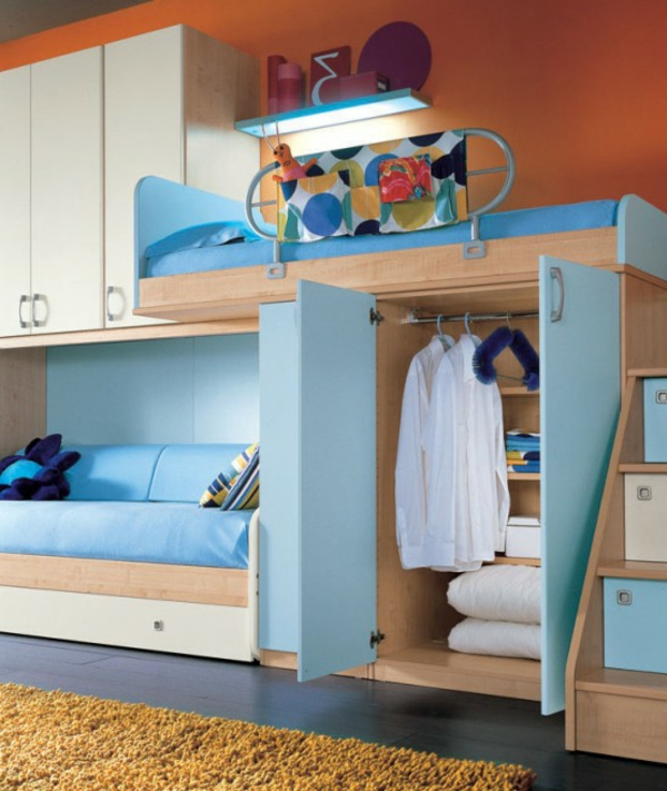 kinderzimmer ideen f r kleine zimmer m belideen. Black Bedroom Furniture Sets. Home Design Ideas