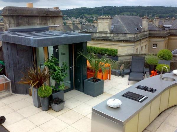 küche-auf-dem-dach-moderne-terrassengestaltung