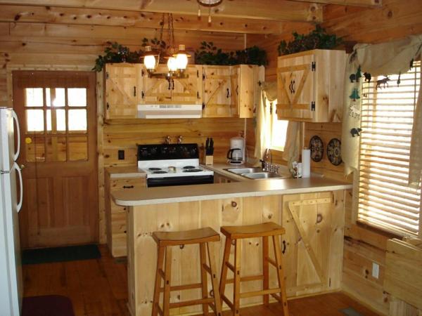 küche-dekoration-interessant- gemütliche atmosphäre schaffen
