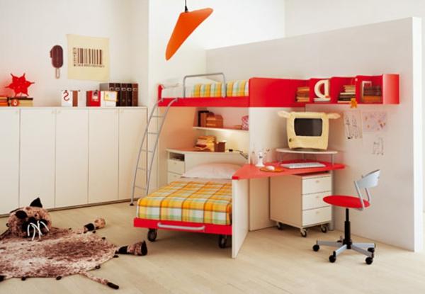 helle farben und interessante möbelstücke im kinderzimmer