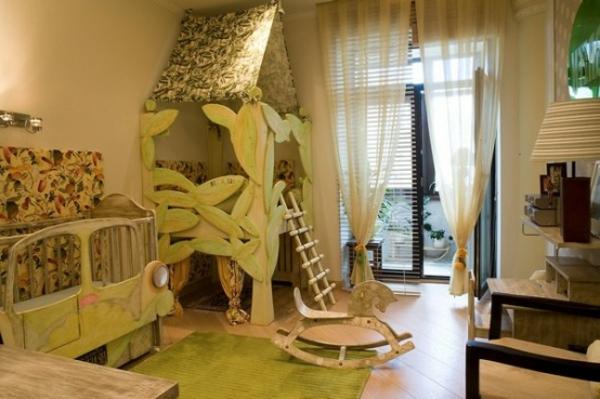 Haus Als Spielzeug Im Kinderzimmer