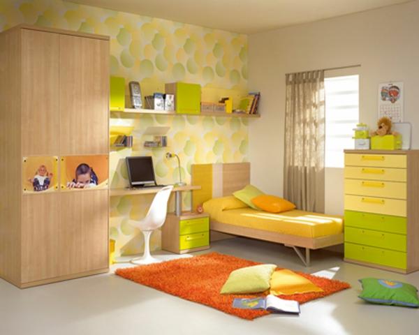Vorschlage Gestaltung Kinderzimmer : Einrichten mit Farben Grüne Farbtöne für frische Atmosphäre!