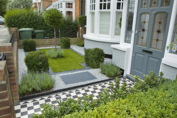 vorgarten gestalten - 23 praktische ideen - archzine, Gartenarbeit ideen