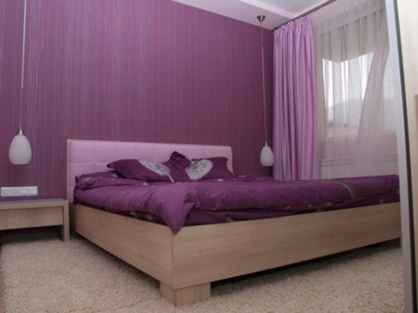 Wandgestaltung Schlafzimmer Mit Tapeten : f?r die w?nde und f?r die gardinen und bettw?sche im schlafzimmer