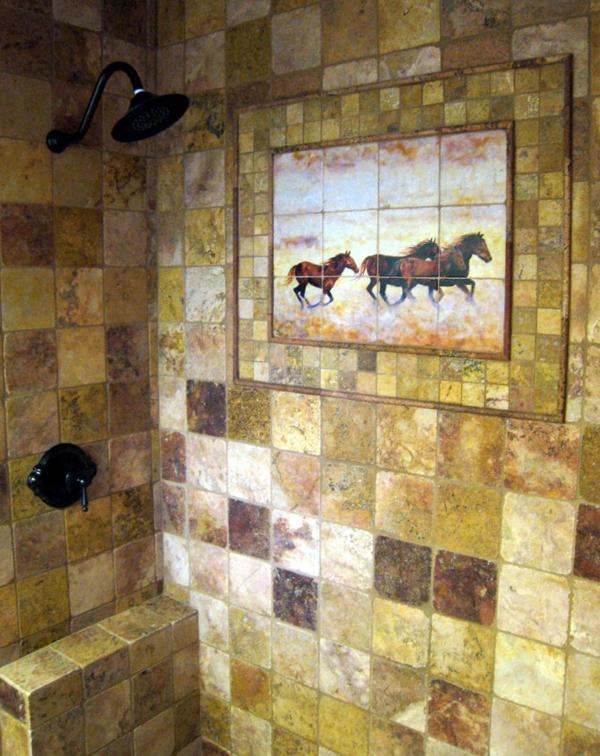 luxus-wandgestaltung-badezimmer-goldene-farbe- ultramodern