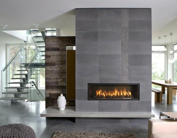 design : moderne wohnzimmer mit kaminofen ~ inspirierende bilder ...