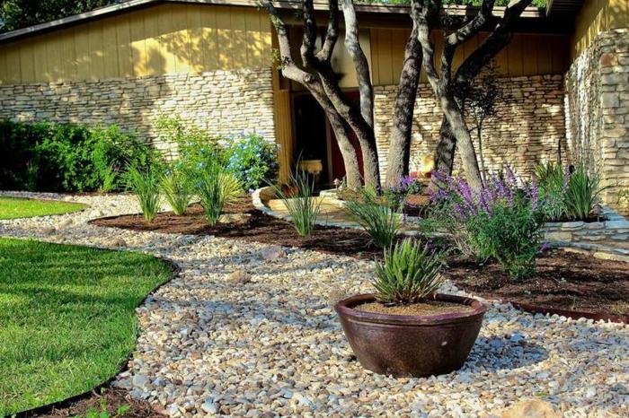 30 gartengestaltung ideen – der traumgarten zu hause, Haus und garten