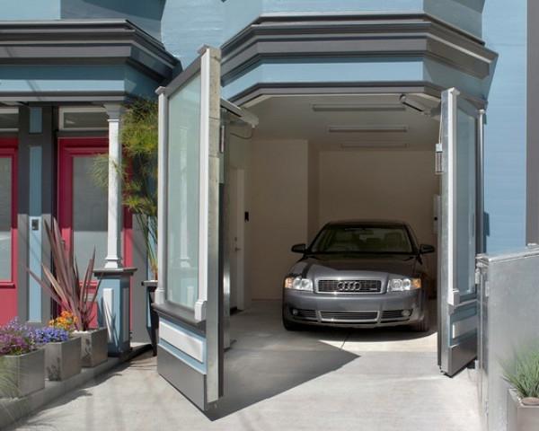 Garage innen gestalten  Moderne Garagen - 30 originelle Designs - Archzine.net