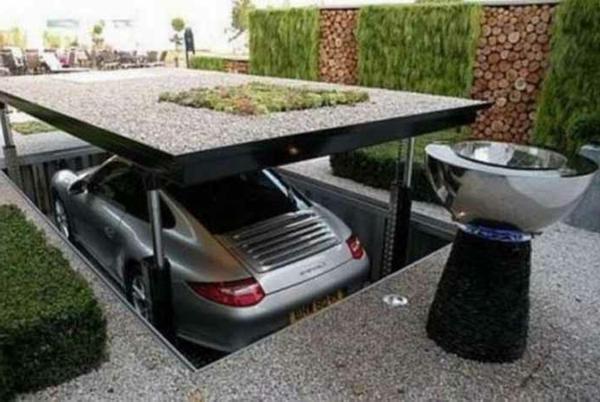 Garagen Regalsysteme Design : Moderne garagen originelle designs archzine