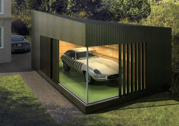 moderne-garagen-luxuriöses-modell