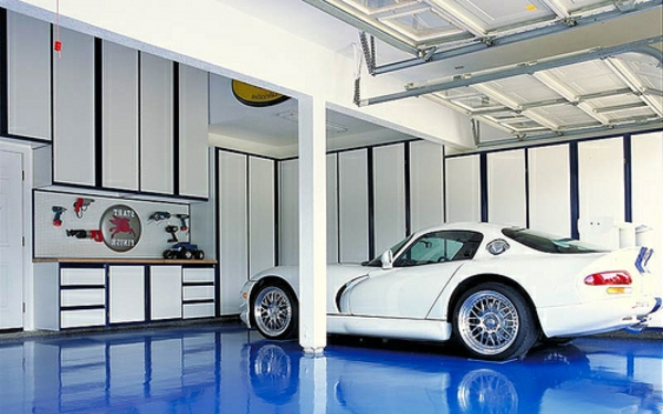 Relativ Moderne Garagen - 30 originelle Designs - Archzine.net UK39