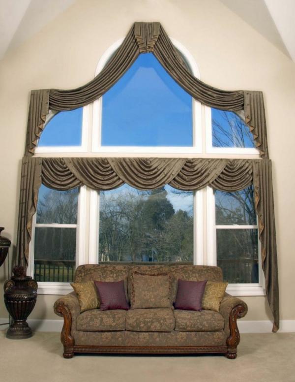 moderne-gardinen-luxus- großzügige gestaltung