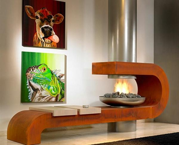 Kamine Modernes Design wie sehen moderne kamine aus erfahren sie gleich archzine